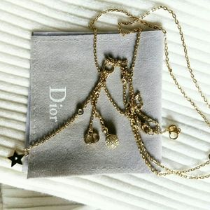 Authentic dior necklace
